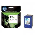 Tusz Oryginalny HP 22 XL (C9352CE) (Kolorowy)