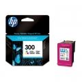Tusz Oryginalny HP 300 (CC643EE) (Kolorowy)