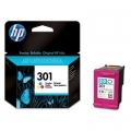 Tusz Oryginalny HP 301 (CH562EE) (Kolorowy)