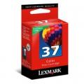 Tusz Oryginalny Lexmark 37 (18C2140E) (Kolorowy)