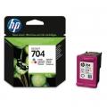 Tusz Oryginalny HP 704 (CN693AE) (Kolorowy)