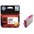 Tusz Oryginalny HP 655 (CZ111AE) (Purpurowy)