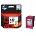 Tusz Oryginalny HP 650 (CZ102AE) (Kolorowy)