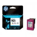 Tusz Oryginalny HP 901 (CC656AE) (Kolorowy)