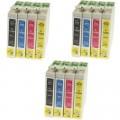 3x Tusze Zamienniki T0715 do Epson (C13T07154010) (komplet)