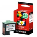 Tusz Oryginalny Lexmark 27 (10NX227E) (Kolorowy)