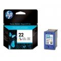 Tusz Oryginalny HP 22 (C9352AE) (Kolorowy)