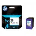 Tusz Oryginalny HP 28 (C8728AE) (Kolorowy)