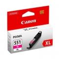 Tusz Oryginalny Canon CLI-551 M XL (6445B001) (Purpurowy)