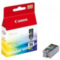 Tusz Oryginalny Canon CLI-36 (1511B001) (Kolorowy)