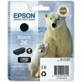 Tusz Oryginalny Epson T2601 (C13T26014010) (Czarny)