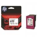 Tusz Oryginalny HP 652 (F6V24AE) (Kolorowy)
