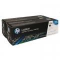 Tonery Oryginalne HP 125A (CB540AD) (Czarne) (dwupak)