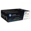 Tonery Oryginalne HP 305A (CF370AM) (trójpak)