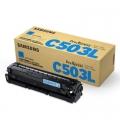 Toner Oryginalny Samsung CLT-C503L (SU014A) (Błękitny)