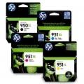 Tusze Oryginalne HP 950 XL/951 XL (C2P43AE) (komplet)