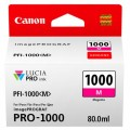 Tusz Oryginalny Canon PFI-1000M (0548C001) (Purpurowy)