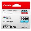 Tusz Oryginalny Canon PFI-1000PC (0550C001) (Błękitny Foto)