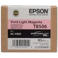 Tusz Oryginalny Epson T8506 (C13T850600) (Jasny purpurowy)