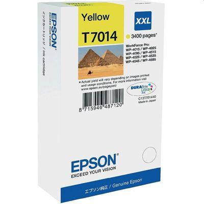 Tusz oryginalny T7014 do Epson (C13T70144010) (Żółty)