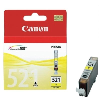 Tusz oryginalny CLI-521 Y do Canon (2936B001) (Żółty)