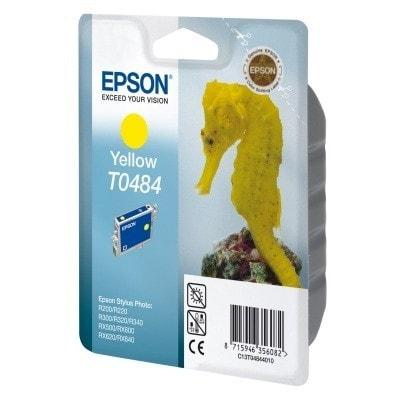Tusz oryginalny T0484 do Epson (C13T04844010) (Żółty)