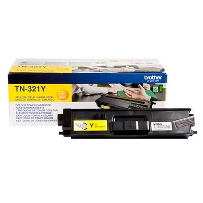 Toner oryginalny TN-321Y do Brother (TN-321Y) (Żółty)
