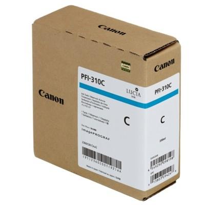 Tusz oryginalny PFI-310C do Canon (2360C001) (Błękitny)