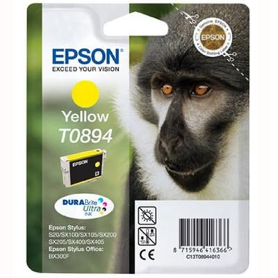 Tusz oryginalny T0894 do Epson (C13T08944011) (Żółty)