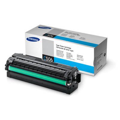 Toner oryginalny CLT-C506L 3,5K do Samsung (SU038A) (Błękitny)