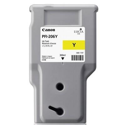 Tusz oryginalny PFI-206Y do Canon (5306B001AA) (Żółty)