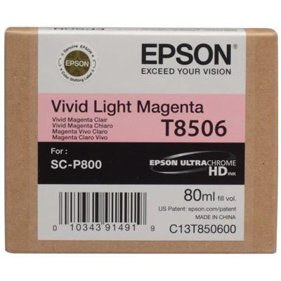 Tusz oryginalny T8506 do Epson (C13T850600) (Jasny purpurowy)