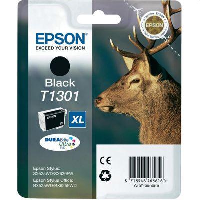 Tusz oryginalny T1301 do Epson (C13T13014010) (Czarny)