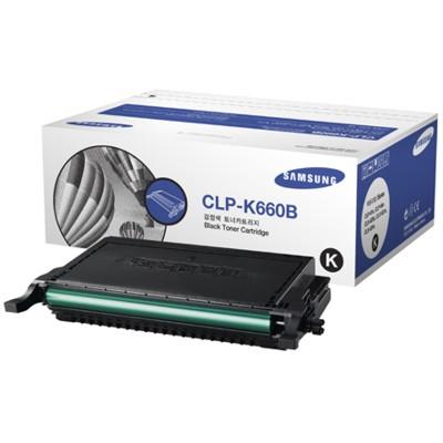 Toner oryginalny CLP-K660B 5,5K do Samsung (ST906A) (Czarny)