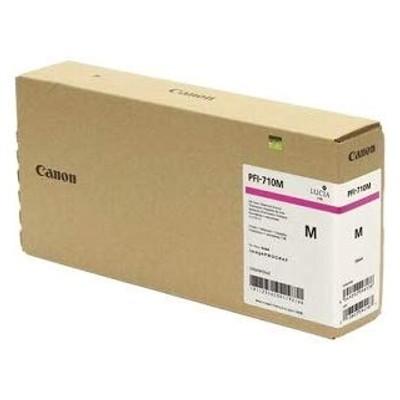 Tusz oryginalny PFI-710M do Canon (2356C001) (Purpurowy)