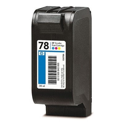 Regeneracja tusz 78 do HP (C6578DE) (Kolorowy)
