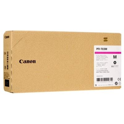 Tusz oryginalny PFI-707M do Canon (9823B001) (Purpurowy)