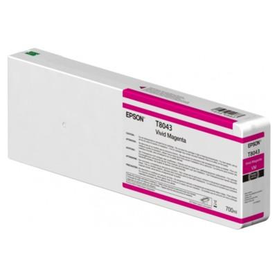 Tusz oryginalny T8043 do Epson (C13T804300) (Purpurowy)