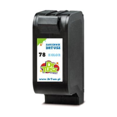 Tusz zamiennik 78 do HP (C6578DE) (Kolorowy)