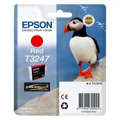 Tusz oryginalny T3247 do Epson (C13T32474010) (Czerwony)