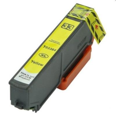 Tusz zamiennik T3364 do Epson (C13T33644010) (Żółty)