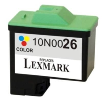 Regeneracja tusz 26 do Lexmark (10N0026E) (Kolorowy)