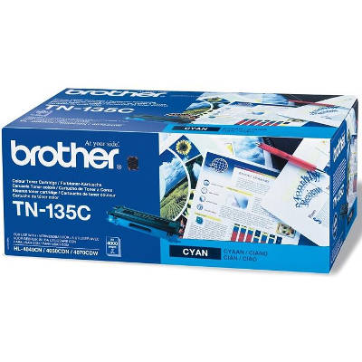 Toner oryginalny TN-135C do Brother (TN135C) (Błękitny)