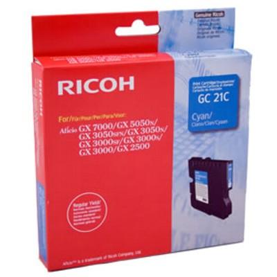 Tusz oryginalny GC-21C do Ricoh (405533) (Błękitny)