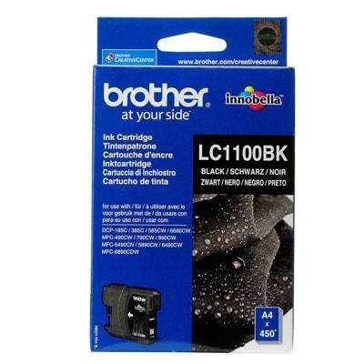 Tusz oryginalny LC-1100 BK do Brother (LC1100BK) (Czarny)