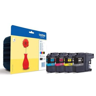 Tusze oryginalne LC-121 CMYK do Brother (LC121CMYK) (komplet)