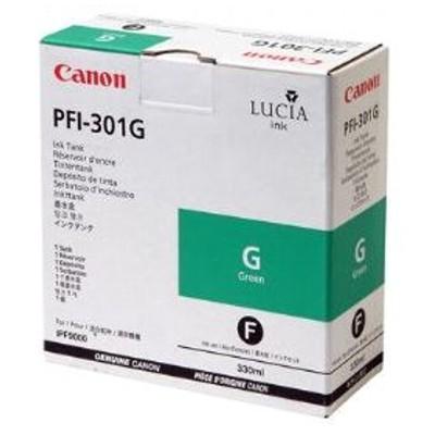 Tusz oryginalny PFI-301G do Canon (1493B001) (Zielony)