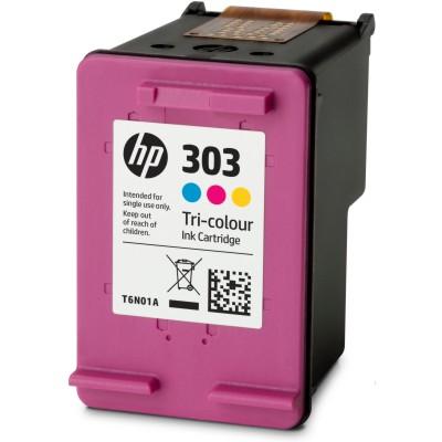 Regeneracja tusz 303 do HP (T6N01AE) (Kolorowy)