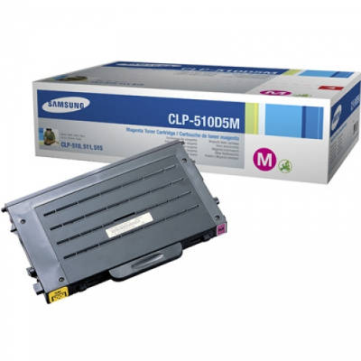 Toner oryginalny CLP-510D5M 5K do Samsung (CLP-510D5M) (Purpurowy)