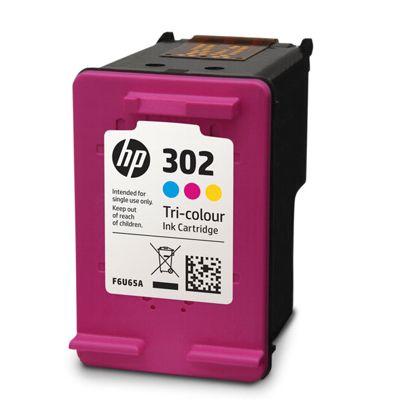 Regeneracja tusz 302 do HP (F6U65AE) (Kolorowy)